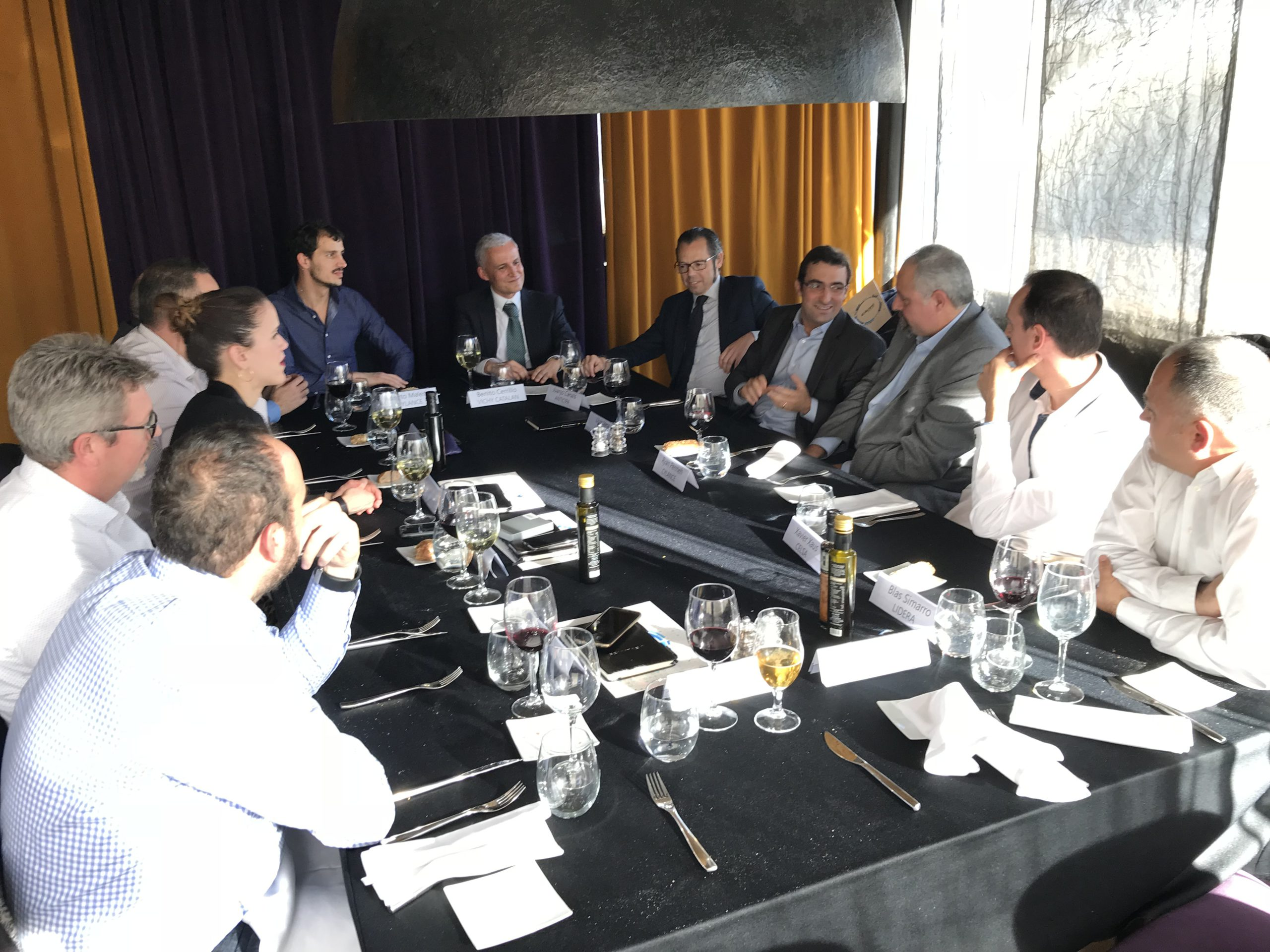 Ryan Permeh, Cylance's Co-Founder, attended the Ackcent Cybersecurity Lunch