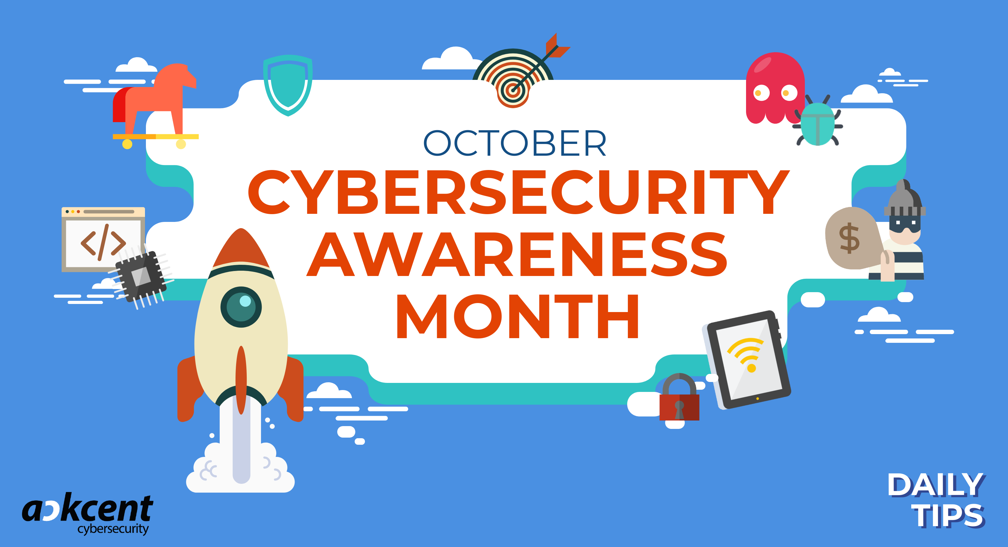 Join Ackcent's Cybersecurity Awareness Month to keep your team cybersecure