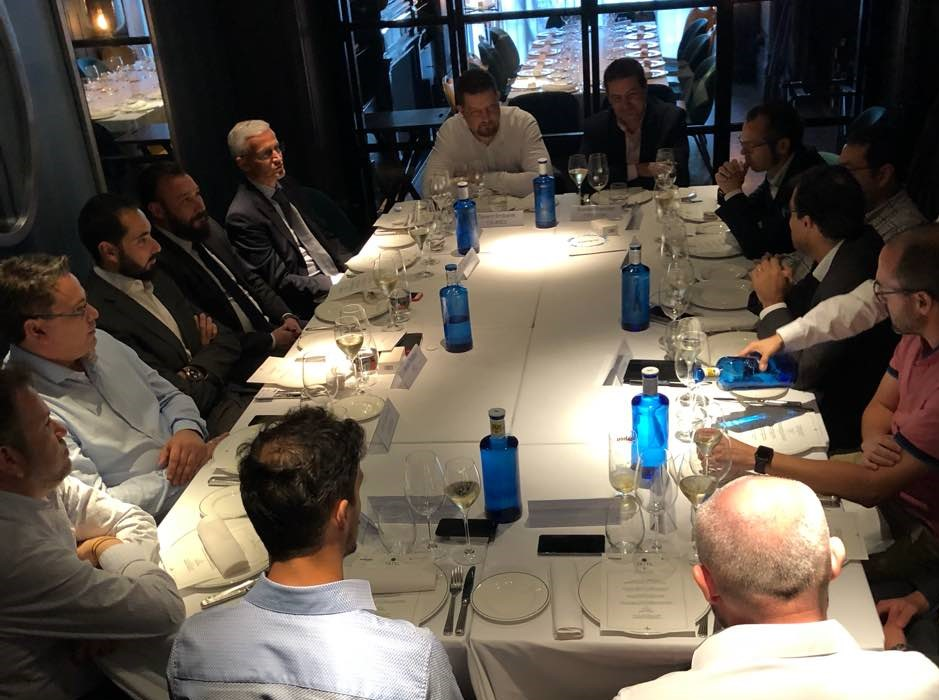 Ackcent holds another Cyberlunch in Madrid