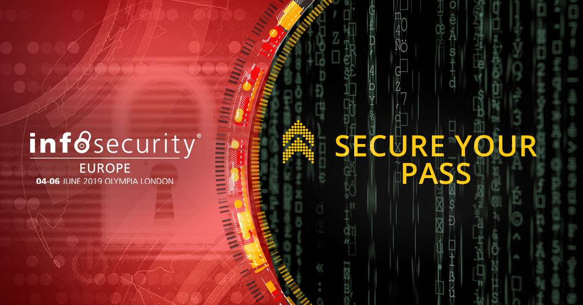 We are visiting Infosecurity Europe again this year!