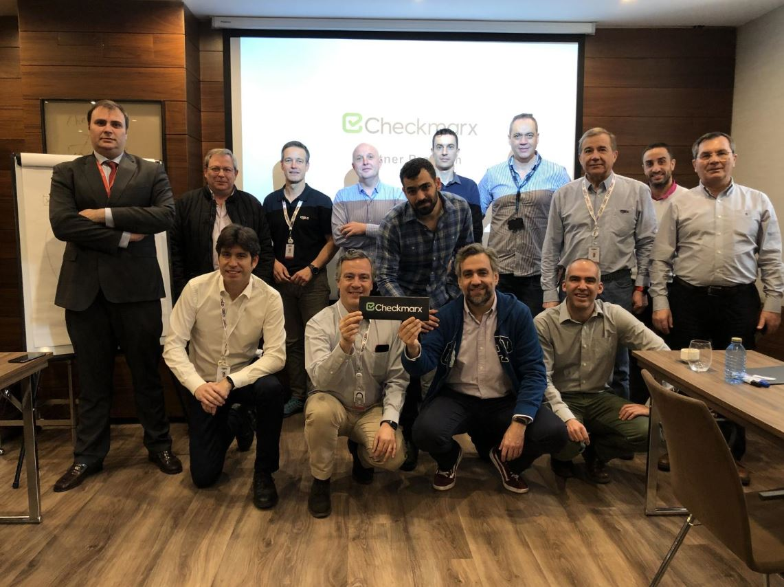 Ackcent attends Checkmarx partner enablement meeting in Madrid